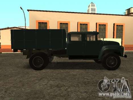 ZIL 130 doble cabina para GTA San Andreas left