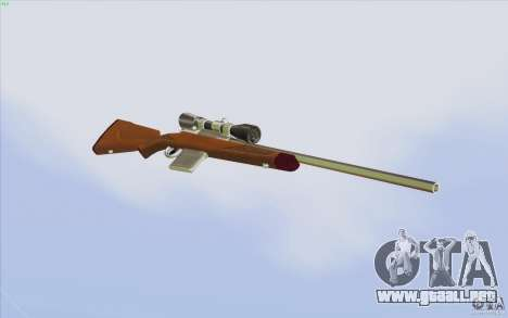 Low Chrome Weapon Pack para GTA San Andreas novena de pantalla