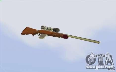 Low Chrome Weapon Pack para GTA San Andreas novena de pantalla