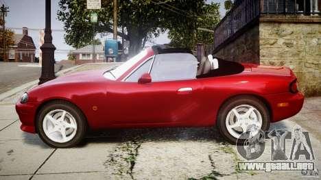 Mazda MX-5 Miata para GTA 4 left