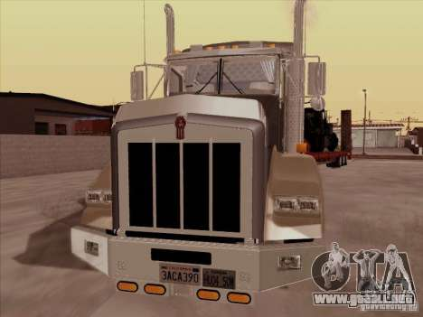 Kenworth T800 para GTA San Andreas left