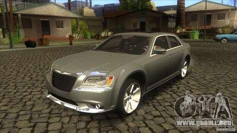 Chrysler 300 SRT-8 2011 V1.0 para GTA San Andreas