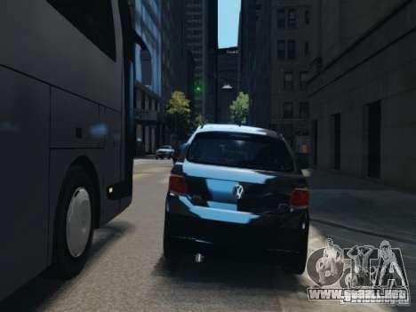Volkswagen Gol G6 para GTA 4 vista hacia atrás