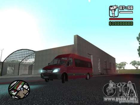 Mercedes-Benz Sprinter 313 CDi para GTA San Andreas