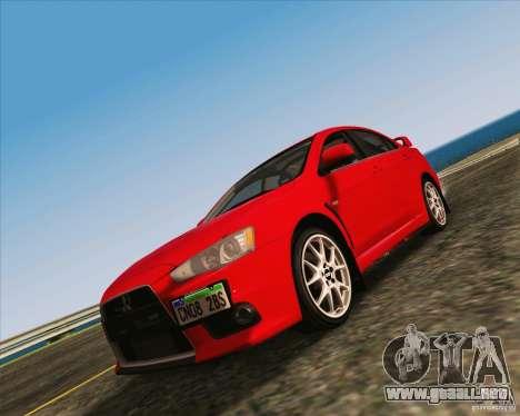 NFS The Run ENBSeries by Sankalol para GTA San Andreas segunda pantalla