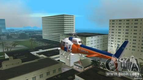 Eurocopter As-350 TV Neptun para GTA Vice City visión correcta