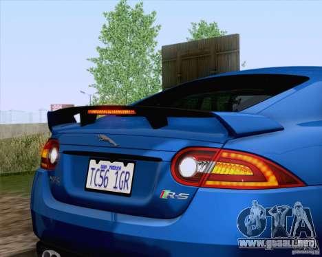 Jaguar XKR-S 2012 para visión interna GTA San Andreas