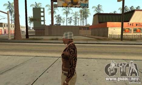 Tatu CJ para GTA San Andreas segunda pantalla