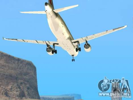 Airbus A320 Air France para visión interna GTA San Andreas
