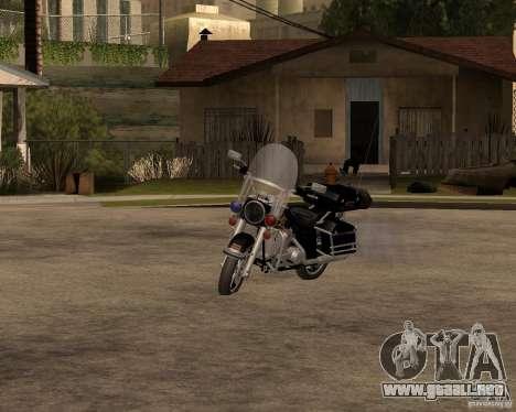 Harley Davidson Police 1997 para GTA San Andreas