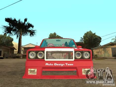 VAZ 2107 Chispita para la visión correcta GTA San Andreas
