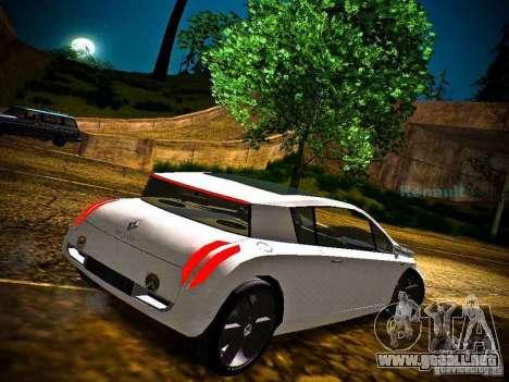 Renault Vel Satis para GTA San Andreas left