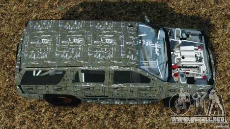Chevrolet Tahoe 2007 GMT900 korch [RIV] para GTA 4 visión correcta