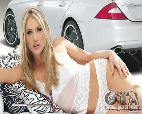 Pantallas de carga y auto chicas para GTA San Andreas sucesivamente de pantalla