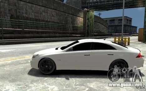 Mercedes Benz CLS Brabus Rocket 2008 para GTA 4 left