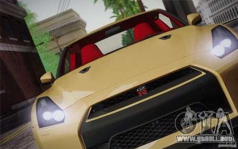 Nissan GTR Egoist para la vista superior GTA San Andreas