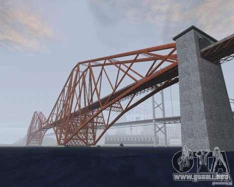 Nuevas texturas de tres puentes en SF para GTA San Andreas sexta pantalla