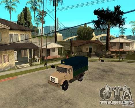 ZIL-433362 Extra Pack 1 para la visión correcta GTA San Andreas