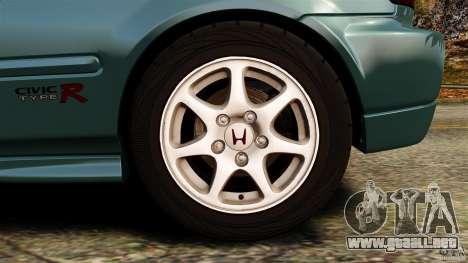 Honda Civic Type R (EK9) para GTA 4 vista superior