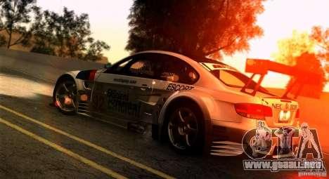 SA gline v4.0 Screen Edition para GTA San Andreas sucesivamente de pantalla