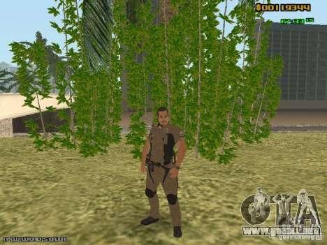SAPD skins para GTA San Andreas tercera pantalla