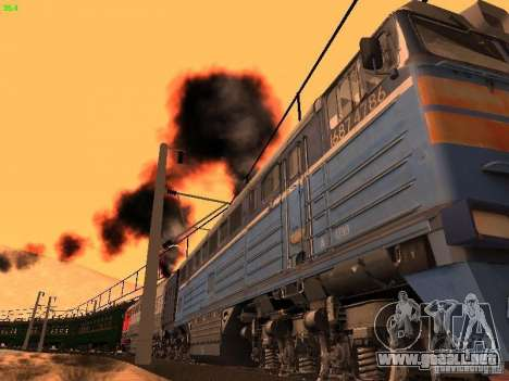 Animtrain para GTA San Andreas sucesivamente de pantalla