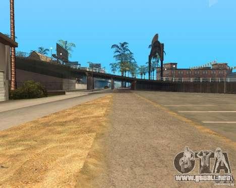 New textures beach of Santa Maria para GTA San Andreas undécima de pantalla