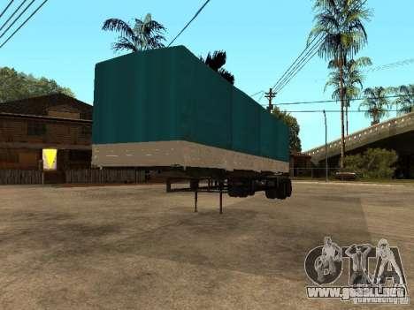KAMAZ 55111 para la visión correcta GTA San Andreas