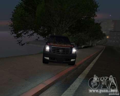 Cadillac Escalade para GTA San Andreas left