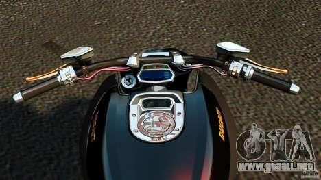 Ducati Diavel Carbon 2011 para GTA 4 vista hacia atrás