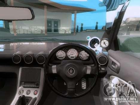 Nissan Silvia S15 drift para GTA San Andreas vista hacia atrás