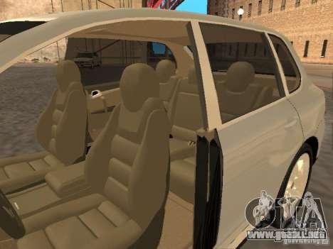 Porsche Cayenne para la visión correcta GTA San Andreas
