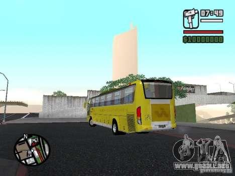 Busscar Vissta Bus para GTA San Andreas left