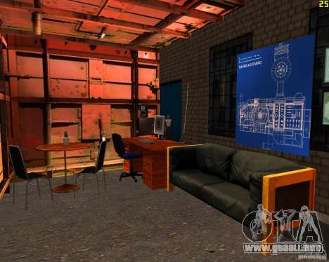 Casa en Anaheim para GTA San Andreas sucesivamente de pantalla