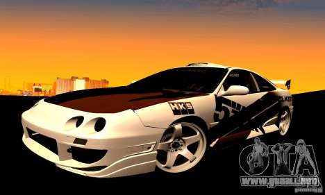 Acura Integra Type R para la visión correcta GTA San Andreas