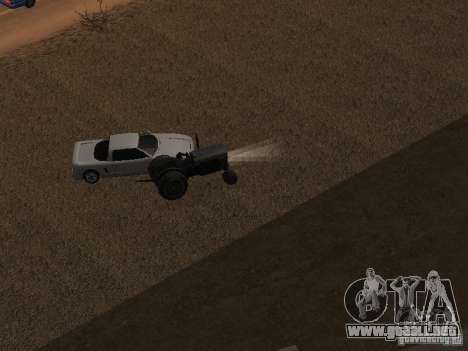 Aceleración para GTA San Andreas sucesivamente de pantalla