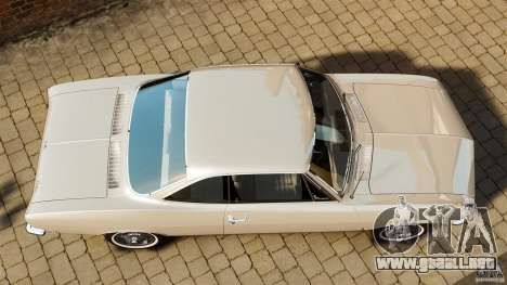 Chevrolet Corvair Monza 1969 para GTA 4 visión correcta