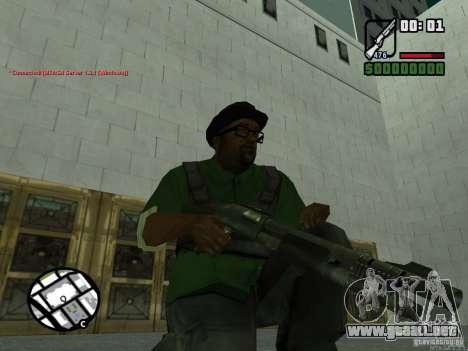 Black Weapon by ForT para GTA San Andreas segunda pantalla