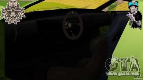 Buffalo Edited by ZveR para GTA San Andreas vista posterior izquierda