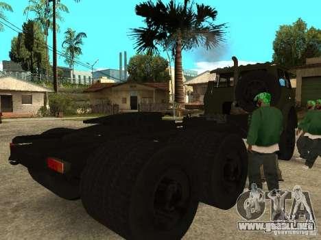 MAZ 515V para la visión correcta GTA San Andreas