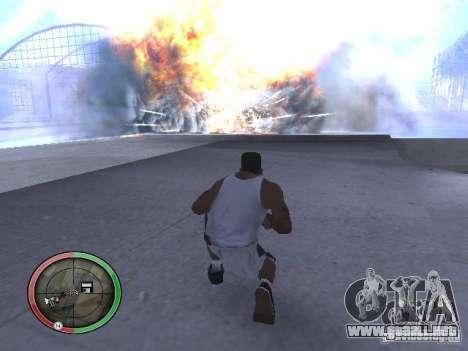 Dinamita MOD para GTA San Andreas quinta pantalla