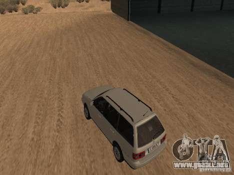 Volkswagen Passat B4 para GTA San Andreas vista posterior izquierda