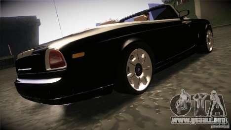 Rolls Royce Phantom Drophead Coupe 2007 V1.0 para la visión correcta GTA San Andreas