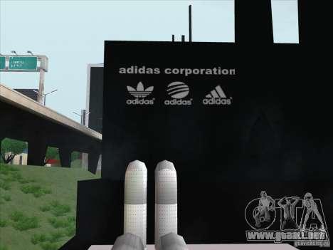 Adidas nuevo para GTA San Andreas tercera pantalla