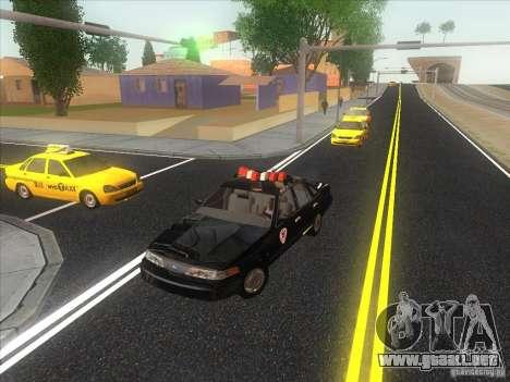 Ford Crown Victoria 1992 Detroit OCP para visión interna GTA San Andreas