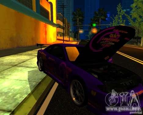 Nissan Silvia C-West para visión interna GTA San Andreas