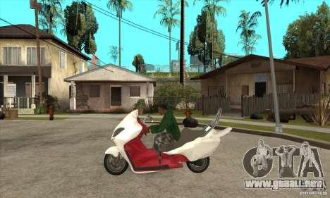 Honda Forza para GTA San Andreas left