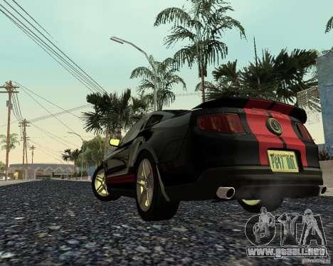 Star ENBSeries by Nikoo Bel SA-MP para GTA San Andreas sucesivamente de pantalla