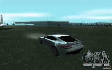 Aston Martin V12 Vantage para visión interna GTA San Andreas