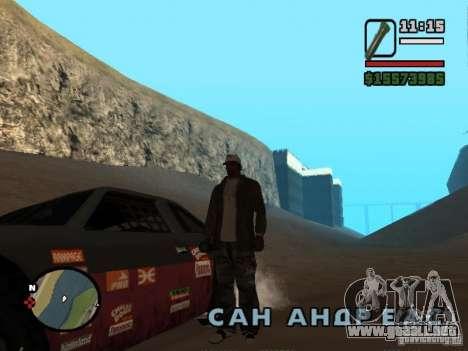 No hay agua para GTA San Andreas tercera pantalla